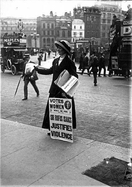 suffragettes movement